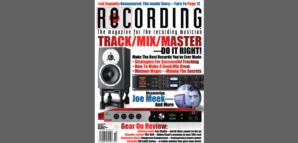 Zen Studio Review by Recording Magazine