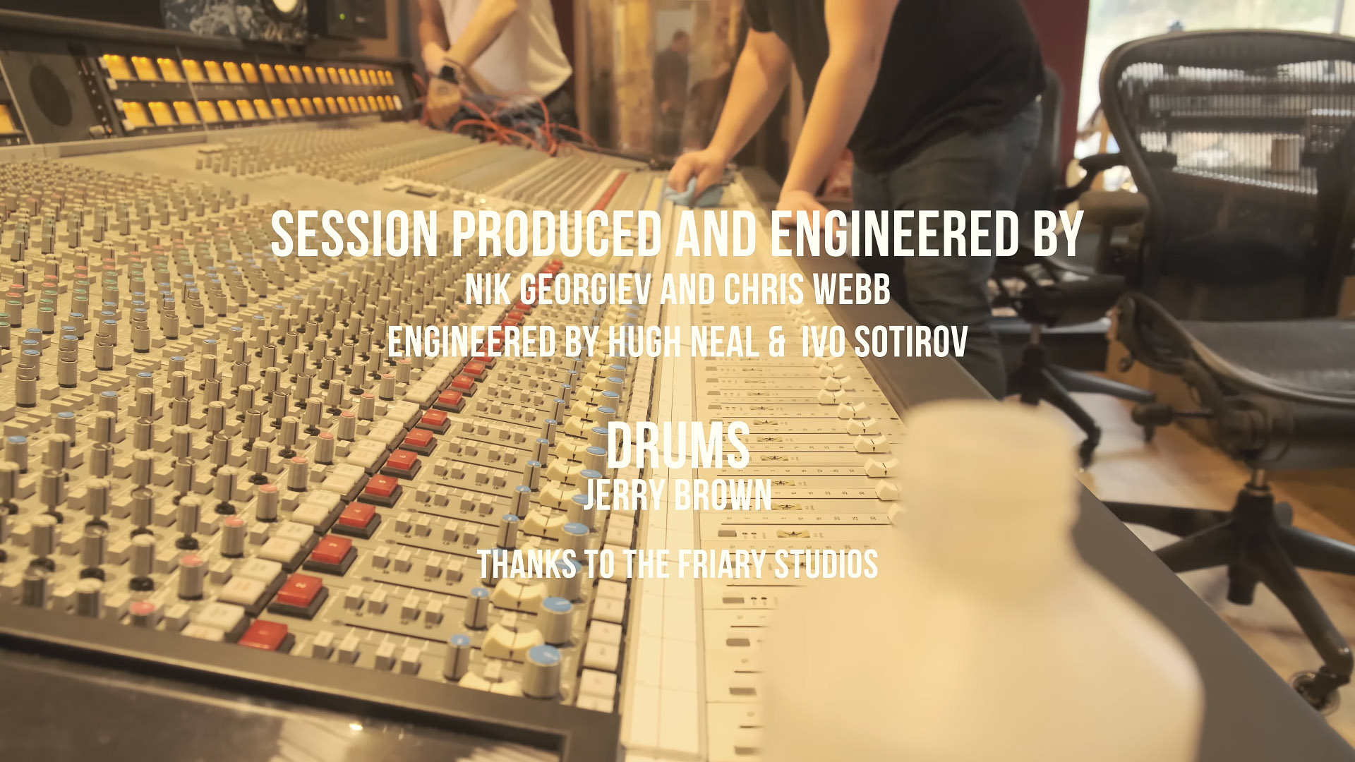 Credits - Drum Session