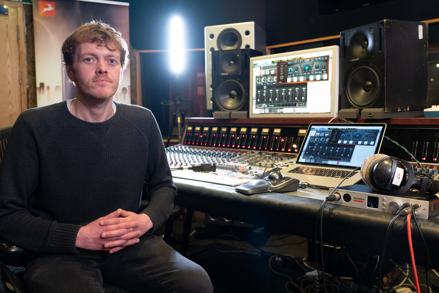 Mixing Engineer Darren Jones Tracking with the Synergy Core FX and Auto-Tune Synergy